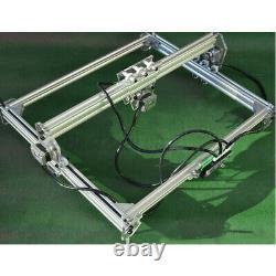 USA 3000MW 65x50cm Laser Engraving Cutting Machine Engraver Printer Desktop Kit