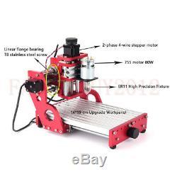 VISE Laser Metal Engraving Carving Machine 1419 CNC Router Milling Cutting KIT
