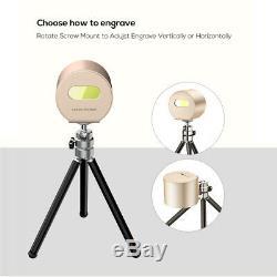 1,6w Portable Gravure Et Découpe Laser Machine Bricolage Logo Photo Printer Graveuse