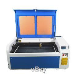 100w 1060 Ruida Dsp Co2 Découpe Laser Machine Graveuse Mise Au Point Automatique Reci Us Stock