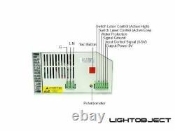100w 130w 150w 180w Pwm Co2 Alimentation Laser Pour Machine De Découpe De Gravure
