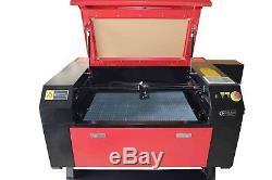 100w 7050 Co2 Découpe Laser Machine De Gravure / Acrylique Cutter Graveuse 700500mm