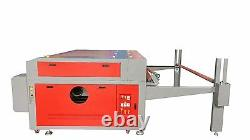 100w Hq1610 Co2 Machine De Découpe Laser / Rouleau D'alimentation Automatique Des Tissus Convoyeur 6339