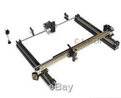 100w Laser Co2 Coupe Machine De Découpe Engraveing graveur Bricolage 55x35.5