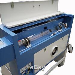 100w W2 Reci Machine De Gravure Laser Logo Bricolage Marquage Imprimante Graveuse Coupe