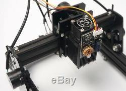10w Bureau Cnc Machine De Gravure Laser De Découpe En Métal Bricolage Marquage Du Bois De Coupe