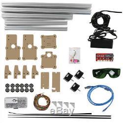 110v-240v Cnc Laser Cutter Marquage Graveuse Métal Bois Machine De Découpe De Bricolage Kit
