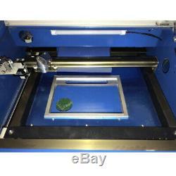 12 X 8 40w Co2 Laser Cutter Graveuse Table De Travail Machine De Gravure De Coupe