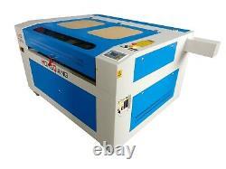130w Hq1290 Laser Gravure Cutter Machine Tissu En Cuir Acrylique 4735
