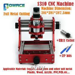 1310 Mini Laser Machine Routeur Cnc Bois Pvc Fraisage Plein Métal Découpe Gravure