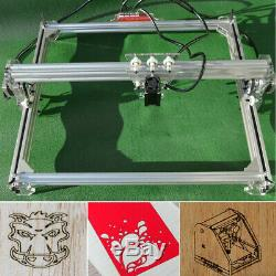 15000mw Bureau Gravure Au Laser Découpe Cnc Carver Graveuse Diy Machine D'impression