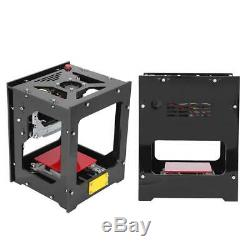 1500mw Usb Gravure Au Laser Machine De Découpe Logo Bricolage Imprimante Cnc Graveuse Bureau