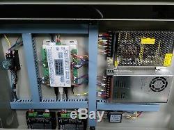 150w + 150w Hq1610d Co2 Gravure Au Laser Machine De Découpe Coupe Graveuse Deux Têtes