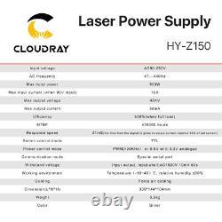 150w Co2 Alimentation Laser Z150 110v 220v Écran LCD Gravure Laser Coupe