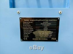 150w Hq1810 Co2 Gravure Au Laser Machine De Découpage En Acrylique Contreplaqué Cutter Graveuse