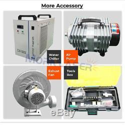 150w Laser Co2 Tube Laser Engraver Coupe Coupe De La Machine 13002500mm Non Mentale