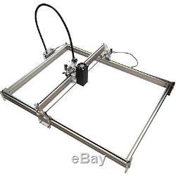 15w Usb Cnc Gravure Au Laser Marquage Métal Machine En Bois De Coupe 100x100cm Diy Kit
