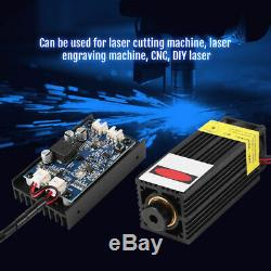 15wb Tête Laser Gravure Module Avec Ttl 450nm Blu-ray En Bois Marquage Outil De Coupe