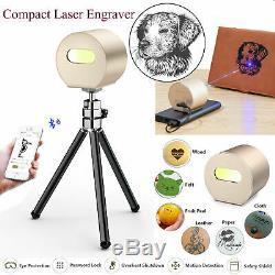 1600mw Diy Portable Gravure Laser De Bureau Bluetooth Machine À Couper Graveuse
