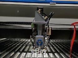 180w Hq1530m Co2 Inoxydable Bois En Acier / Mdf Machine De Découpe Laser Acrylique / 510 Pieds
