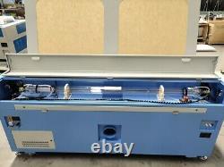 180w Hq1810 Co2 Laser Graveing Machine De Coupe Acrylique Contreplaqué Cutter/18001000