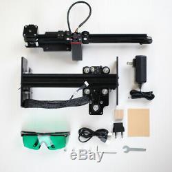 20w Cnc Routeur Laser Gravure Graveuse Carving Machine De Découpe Mark Imprimante