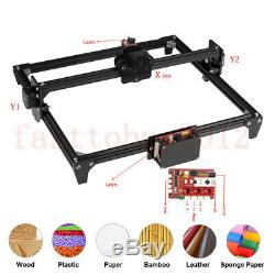 2500mw Mini Découpe Laser Machine De Gravure Imprimante Kit De Bureau 450 X 400 MM Bricolage