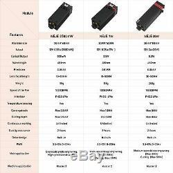 3.5with7with20w Module Laser Tête Gravure De Coupe Neje Machine De Gravure De Bricolage