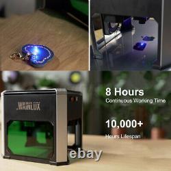 3000mw 3d Wifi Laser Graveing Machine De Coupe Usb Abs Diy Logo Mark Printer Royaume-uni