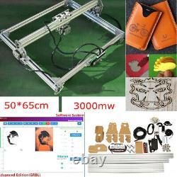 3000mw De Gravure Laser Kit Machine De Découpage De Bureau + États-unis Graveuse