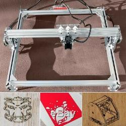 3000mw Machine De Gravure Laser Logo Bricolage Marquage Engraver Imprimante Coupe 65x50cm