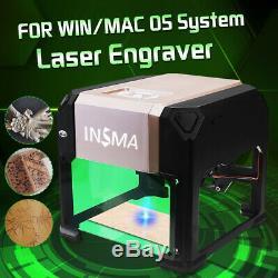 3000mw Usb 3d Gravure Au Laser Machine De Découpe Cnc Bricolage Logo Graveuse Mark Imprimante