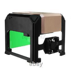 3000mw Usb Laser Gravure Cutting Machine Diy Logo Printer Cnc Graveur Desktop