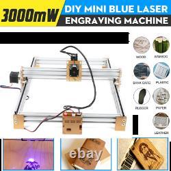 300mw 59x45cm Bricolage Gravure Laser Gravure Machine Graveur Bureau