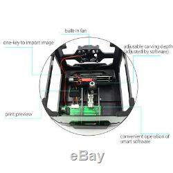 3500mw Mini Usb Laser Printer Carver Graveuse Bricolage Mark Gravure Coupe