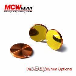 3pcs Dia. 20 MM Cu Cuivre Réflexion En Miroir Co2 Découpe Laser Cutter Gravure