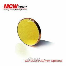 3pcs Dia. 25 MM Cu Cuivre Réflexion En Miroir Co2 Découpe Laser Cutter Gravure