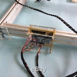 4050cm 2500mw 2.5w Bureau Découpe Laser / Machine De Gravure Photo Bricolage Marquage