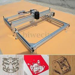 4050cm Zone 500mw Mini Laser Gravure Imprimante Machine De Découpe Kit De Bureau Nouveau