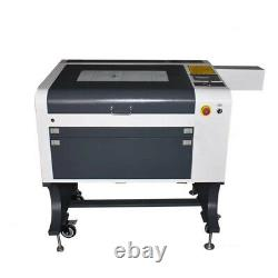 4060 60w Haute Précision Co2 Machine À Découper Laser Découpe Laser Gravure En Verre