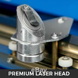 40w 12''x8 '' Co2 Usb Laser Cutter Graveuse Gravure Machine De Découpe Bleu