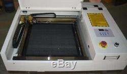 40w 4040 Co2 Cnc Laser Gravure Eau-forte Machine De Découpe Cutter Bureau Graveuse
