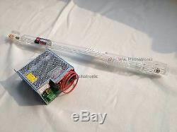 40w Alimentation + Laser Tube Pour Co2 Gravure Au Laser Machine De Découpe 220 V T1