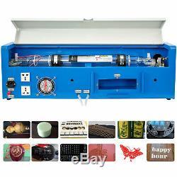 40w Co2 Gravure Au Laser Machine De Découpe Cutter Graveuse 300200mm Port Usb Bricolage