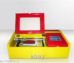 40w Co2 Laser Stamp Gravure Machine Coupeur Usb Port Haute Précision