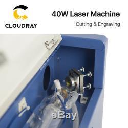 40w Co2 Stamp Machine De Gravure Laser De Découpe Port Usb Haute Graveuse Précise