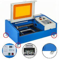 40w Laser Co2 Mise À Niveau Graveuse Machine À Couper Artisanat Cutter Usb Interface Bricolage