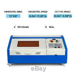 40w Laser Co2 Mise À Niveau Graveuse Machine De Découpe Artisanat Cutter Interface Usb