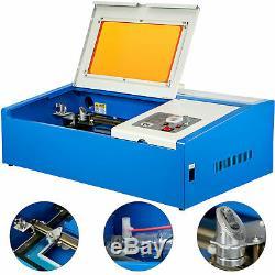 40w Usb Laser Cutter Gravure Graveuse Machine De Découpe Laser Co2 De L'imprimante 128