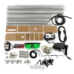 40x50cm Mini Machine De Gravure Laser 500mw Marquage Bois Imprimante Logo Bricolage Coupe